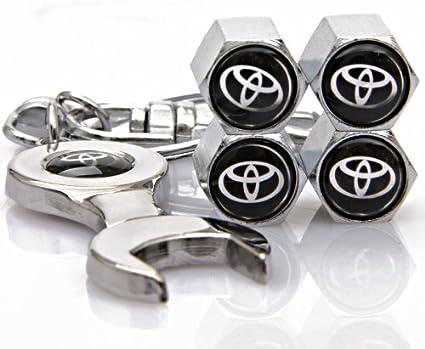 4 unidades tapas de válvula cromo metal válvula tapas de protección tapa válvula nuevo