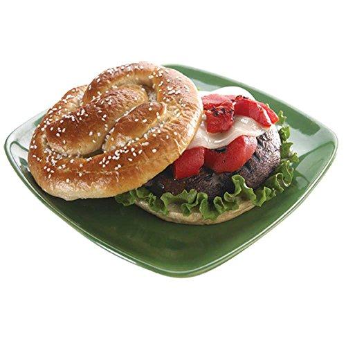 - Bavarian Bakery 51 Percent Whole Grain Gourmet Pretzel Roll, 2.7 Ounce - 108 per case.