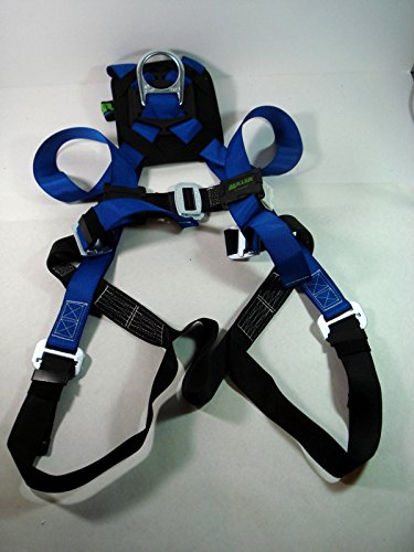 Polyester Universal Vest Style Harness (Miller HP 650DT Blue Universal Vest-Style Body Harness - Polyester Webbing - 612230-10464 [PRICE is per EACH])