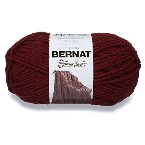 Bernat Blanket Yarn, 10.5 oz, Purple Plum, 1 Ball ()