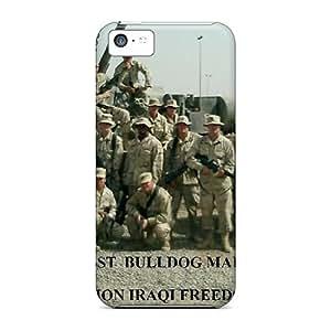 New Premium Flip Cases Covers Maintenance Troop Skin Cases For Iphone 5c