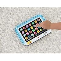 Fisher Price Ríe y Aprende Tablet de Aprendizaje Crece Conmigo, color Azul
