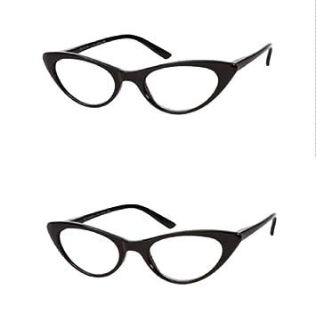 730eea71363f Amazon.com  The Brit Cat Eye Reading Glasses