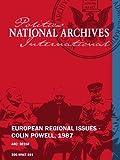 EUROPEAN REGIONAL ISSUES - COLIN POWELL, 1987