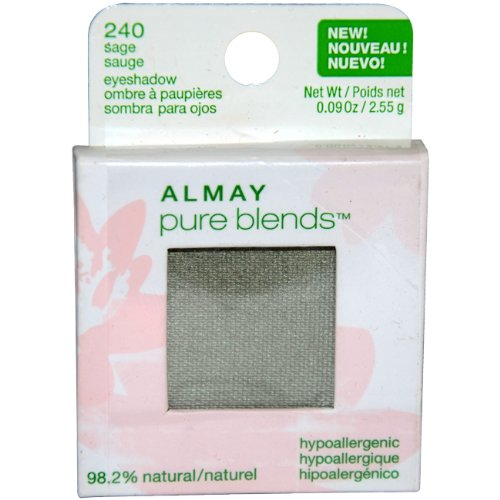 Almay Pure Blends Eyeshadow, Sage, 0.09-Ounces (Pack of 1) ()