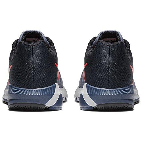 Nike Mænds Luft Zoom Struktur 21 Løbesko Mørke Himmel Blå / Samlede Crimson-sort-Flåde jQXmA