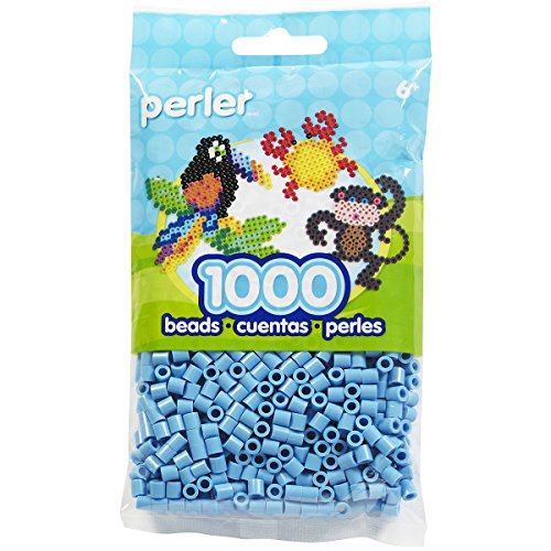 (Perler Beads Fuse Beads for Crafts, 1000pcs, Pastel Blue)