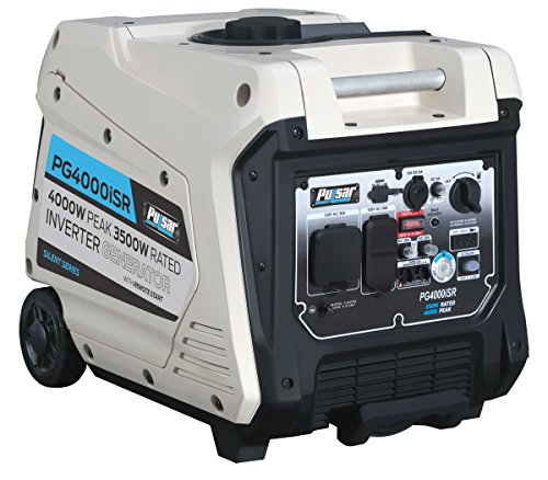 Pulsar 4,000W Portable Gas-Powered Quiet Inverter Generator with Remote Start & Parallel Capability, CARB Compliant, - Home Depot Inverter