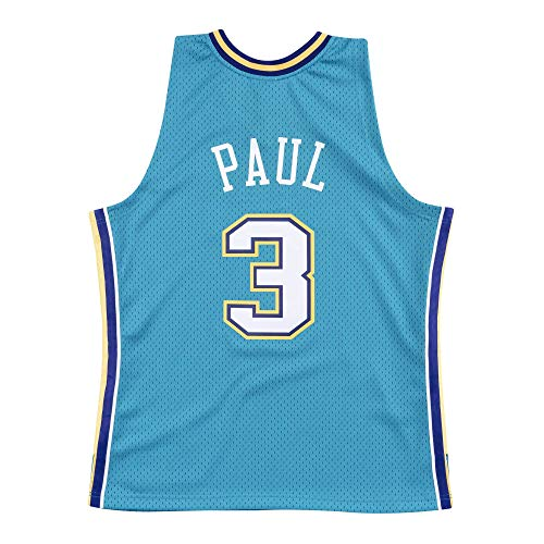Mitchell & Ness Chris Paul New Orleans Hornets Swingman Throwback 2005-2006 Replica Jersey (XX-Large)
