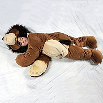 Amazon Com Snoozzoo Lion Children S Stuffed Animal Sleeping Bag