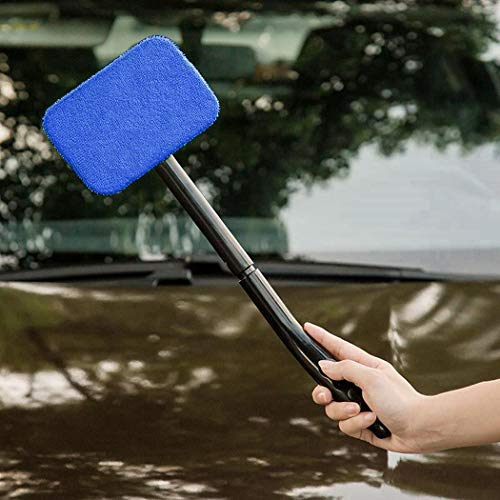 Cidere Detachable Long Handle Car Glass Cleaning Brush Windshield Wiper Hand ()