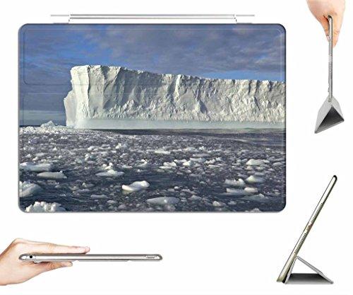 iPad Air Case + Transparent Back Cover - Iceberg - [Auto Wake/Sleep Function] [Ultra Slim] [Light Weight]
