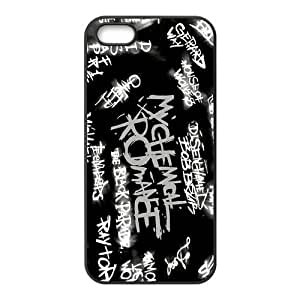 Danny Store 2015 New Arrival TPU Rubber Coated Phone Case Cover for iPhone 5 / ipod touch4 - My Chemical Romance