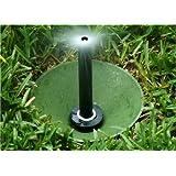 "Sprinkler Buddy (Pack of 7) Has a 7"" Diameter - Underground Sprinkler Head Guard Donuts. (For Rotary and Spray Heads) Hunter, Orbit, Rain Bird, Etc... (Remove Sprinkler Head to Install). Made in USA"