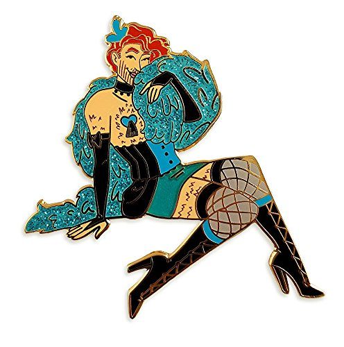 Pinsanity Bike Pin Up Boy Enamel Lapel Pin