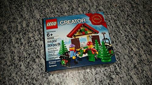 레고 크리에이터 40082 크리스마스 장면 세트 2013 한정판(115 개)
