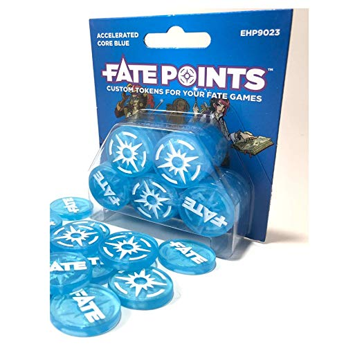 Evil Hat Productions EHP09023 Fate Points: Accelerated Core Blue, Mehrfarbig Pegasus Spiele