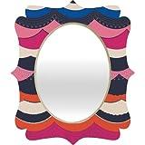 Deny Designs Vy La Unwavering Love Quatrefoil Mirror, 28 x 23