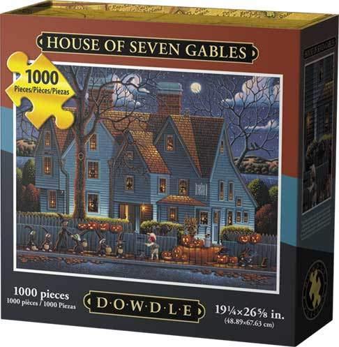 Dowdle Jigsaw Puzzle - House of Seven Gables - 1000 Piece -