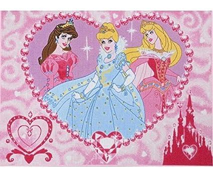 Cameretta Disney Principesse : Tappeto per cameretta antiscivolo di alta qualità principesse
