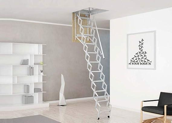 Mister Step Escalera escamoteable para buhardillas ADJ H=325÷350 ...