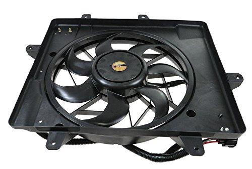 Radiator Cooling Fan & Motor for 06-10 Chrysler PT Cruiser (Radiator Fan Cooling Side Motor)