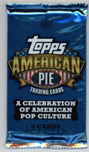 2011 Topps American Pie Pop Culture Trading Cards Unopened Hobby Pack (8 cards per pack) - Look for memorabilia cards, autographs, and other great inserts in some packs from American Pie