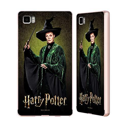Official Harry Potter Minerva Mcgonagall Chamber of Secrets IV Gold Aluminum Bumper Slider Case Compatible for Xiaomi Mi 3
