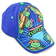 Nickelodeon Little Boys TMNT Cotton Baseball Cap, Age 2-7