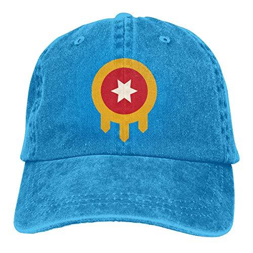 Tulsa Flag Vintage Baseball Cap Trucker Hat Adult Unisex Adjustable Dad Hat Blue]()