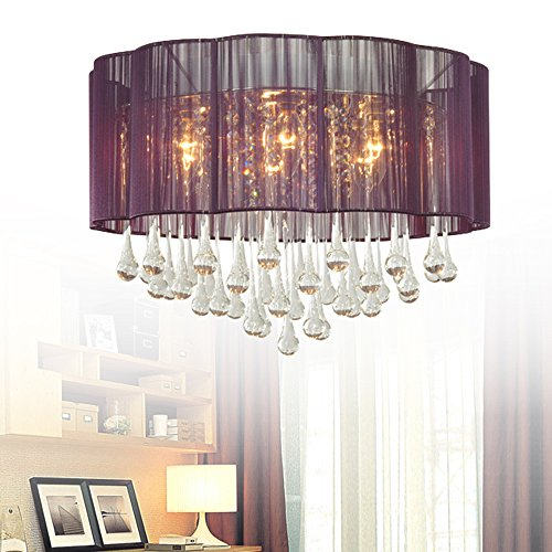 Living Flower Ball Pendant Light Shade Clear - 1