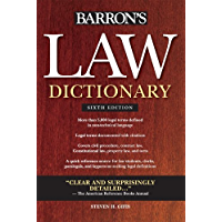 Law Dictionary (Barron's Law Dictionary (Quality)) (English Edition)