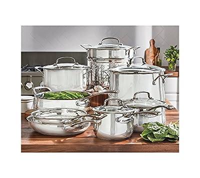 Cuisinart Contour 13-pc. Stainless Steel Cookware Set
