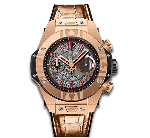 Hublot Big Bang Unico World Poker Tour King Oro Automático Reloj para hombre 411. Ox. 1180. LR. wpt15: Amazon.es: Relojes