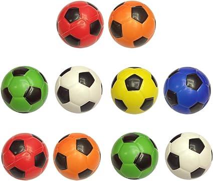 BESPORTBLE 10 Piezas Mini Balón de Fútbol Mini Balones Deportivos ...