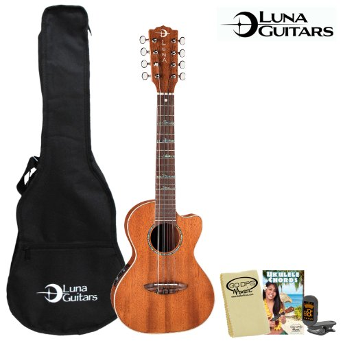 Luna Guitars 8 String UKE HTT8 Electric product image