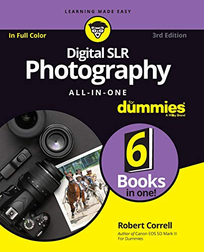The complete beginner's guide to DSLR photography It doesn't matter if your camera says Canon, Nikon, or Sony on the outside. If a passion for photography is on your inside, this all-encompassing guide will be your new best friend. Packed with instru...