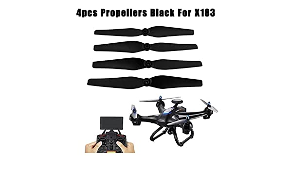 YUYOUG Drone Propellers - Juego de 4 hélices de repuesto para ...