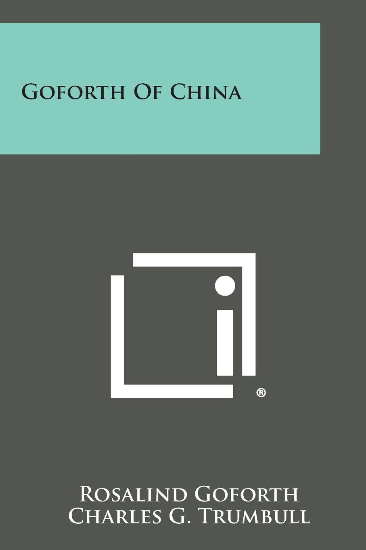 Goforth of China pdf