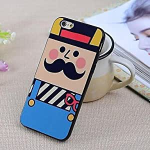 TOPMM Specially Designed Pattern TPU Cover for iPhone 6