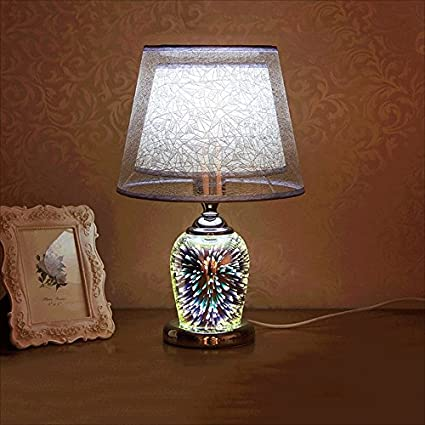 Fashion 3d Crystal Lamp Modern Simple Study Room Living Room