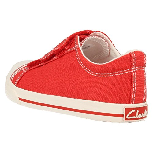 Clarks  Halcy Sky Inf, Jungen Stiefel Rot rojo - rojo