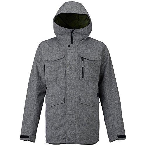 Apparel Burton Insulated Jackets (Burton Men's Covert Jacket, Bog Heather, Large)