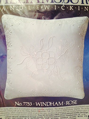 Candlewicking Pillow Kit - Wyndham Rose - Colonial Williamsburg - 16