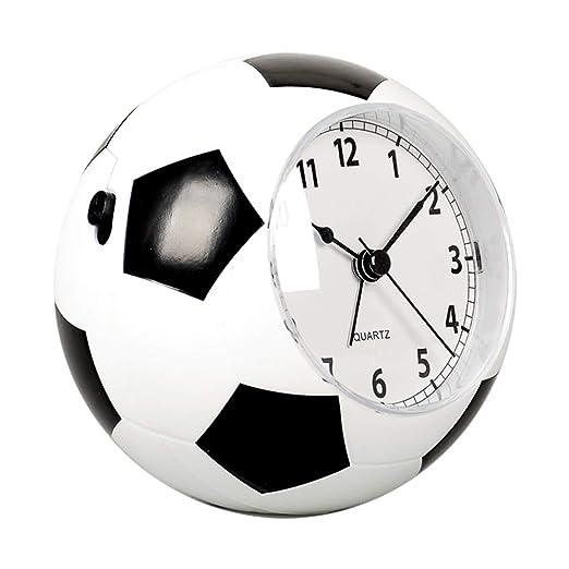 Creative - Reloj despertador (plástico), diseño de balón de fútbol ...