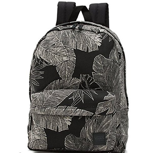 Vans Mens WM DEANA III BACKPACK VN-0021MP25 - BLACK/PALM FRONDS