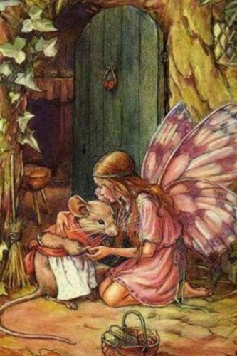 Journal: Woodland Fairy and Mouse by Cicely Mary Barker
