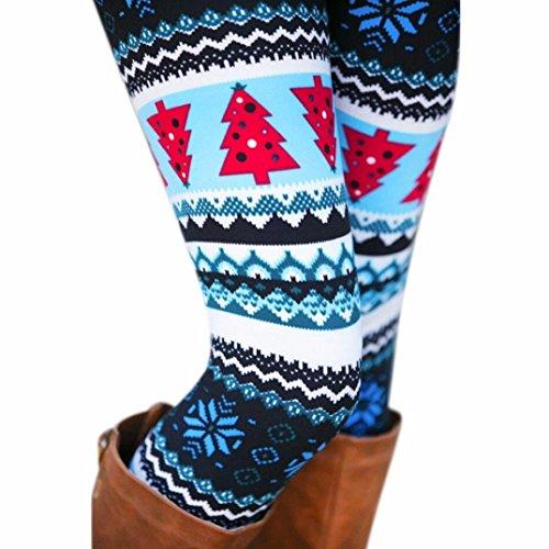 Aumy Women's Digital Printed High Waist Yoga Leggings For Women Full-Length Workout Leggings and Capris Pants-7 Colors