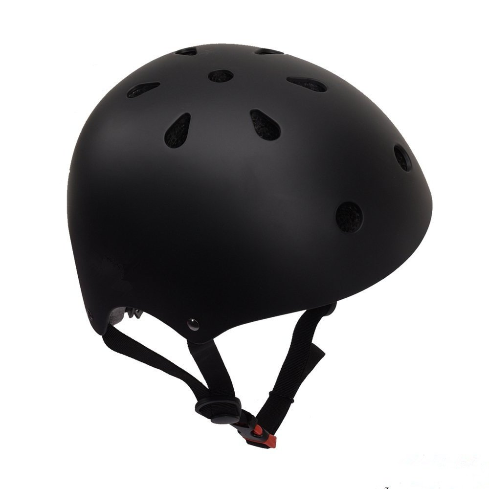 BorMart Skateboard Helmet Adjustable Impact Resistance Ventilation for Multi-Sport Kids & Adult Cycling Skateboarding Roller Skates BMX Scooters Inline Skating Longboard with 11 Vents