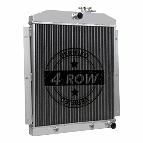 Primecooling 4 Row Core Aluminum Radiator for Chevrolet C/K Truck Pickup 1947-1954 (Fits 6 Cylinders)